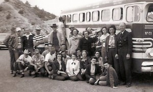 Amy McGee Jardel posted this photo Senior Trip 1952 Sponsor Mac ? married Dale Smultz Seniors were: Leon Brown; Raymond Clark; Cleve Currier; Merrill Deck; Melba Edmonston; Mary Ellen Eubank; Marlene Filson; Phyllis Ford; Geraldine Haug; Melva Hazen; Joyce Jarnagin; Beatrice Jellison; Della Mae Krueger; Guyla Martin; Garth McGee; Dixie McLaughlin; Warren Lee Moore; Donna Morton; Don Pfeiffer; Ronald Prilliman; Rhonda Rhodes; Richard Riner; Hud Sangster; Lloyd Scovell; Ronald Sibbitt; Pat Skidmore; Colleen Smith; Wayne Stanfield; Cecil Thomas jr; Alfred Thompson; Beverly Van Doren; Ross Vaughn; James Watson; Fred Webb; Martin Webster; Delane Skip Woolfolk; Wilma Zimmerman